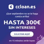Ccloan 300€ gratis button