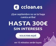 Ccloan 300€ gratis button