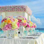 fiesta de boda en la playa