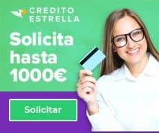 Credito Estrella - banner 1000 euros y chica