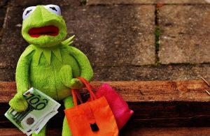 Kermit endeudado y siendo en ASNEF - 200 euros para compras con crédito