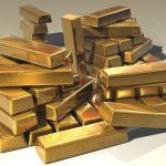 Barras del oro – muy precioso