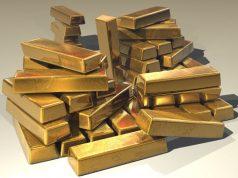 Barras del oro - muy precioso