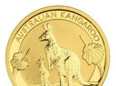 Reverso de la moneda canguro australiano - 2020