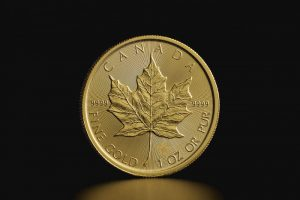 Hoja de arce canadiense - reverso - Maple leaf