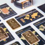 Barras del oro – ensayo 999,5