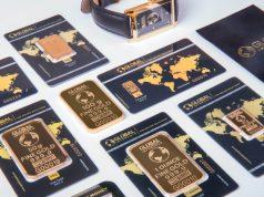 Barras del oro - ensayo 999,5