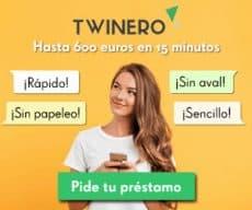 Twinero - préstamo personal - banner 300x250