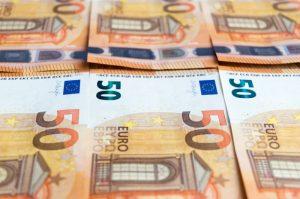 Banknotes de euro - valor nominal de 50 - de crédito